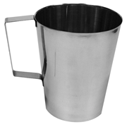 Picture of Healthcare-Hollowware Jugs Jug, 2 Litres, Graduated with Handle, Stainless Steel, Each