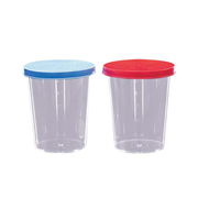 Picture of Plasticware-Containers Specimen Containers Polystyrene with Screw Cap Urine Container PS 150ml Recyclable Plastic cap IND Wrapped, Sterile 10 per Pack 20 Packs per Carton