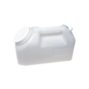 Picture of Plasticware-Containers Urine Containers Polystyrene with Cap and Label Aptaca 24 Hours Container, 2.5 Litres, For Urine, Recyclable Plastic, Each