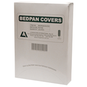 Picture of Livingstone Bedpan Cover, 365 x 280mm, 6.5cm Gusset, Disposable Biodegradable Paper, White, 250 per Dispenser Livingstone Bedpan Cover, 365 x 280mm, 6.5cm Gusset, Disposable Biodegradable Paper, White, 250 per Dispenser