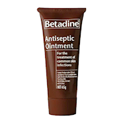 Picture of Betadine Antiseptic Ointment, 65g Tube, Each Betadine Antiseptic Ointment, 65g Tube, Each