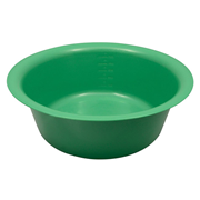 Picture of Holloware-Bowls Plastic, Autoclavable Livingstone Bowl Basin, 5500ml, 345mm Diameter x 120mm Height, Autoclavable Recyclable Plastic, Green, Each