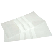 Picture of Laboratory Consumables-Zip-Lock Bags With Labelling Area Livingstone Resealable Zip Lock Bag, 50 x 90 mm, 40 microns Thick, with 3 White Panels, Recyclable Plastic, Clear, 1000 per Box