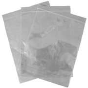 Picture of Food and Packaging Supplies-Zip lock Bags, Multi Purpose Clear, 0.04mm, Plastic (LDPE) Livingstone Resealable Zip Lock Bag, 205 x 255 mm, 40 microns Thick, Recyclable Plastic, Clear, 1000 per Box