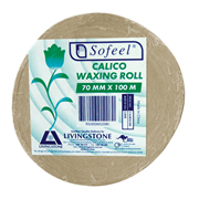 Picture of Livingstone Calico Waxing Roll Calico Roll Waxing Material, 70mm x 100 metres, Unbleached (U20)