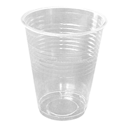 Picture of Food and Packaging Supplies-Disposable Cups Plastic Drinking Cups, 200ml Universal Plastic Drinking Cups, 200ml, Disposable, Recyclable, Clear, 1000 per Carton