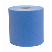 Picture of Celtex Matic Blue Hand Towel Celtex Matic Blue Hand Paper Towel, 3-Ply, 20cm x 100 Metres, Made in Europe, 6 Rolls per Pack, No Touch Electronic Dispenser Available.