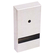 Picture of Toilet Tissue-Toilet Rolls and Dispensers Bowscot Bowscot Twin Interfold Toilet Tissue Dispenser, Epoxy, Each