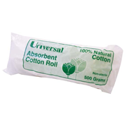Picture of Healthcare-Applicator Sticks & Cotton Products Cotton Rolls Cotton Twirl Universal Absorbent Cotton Roll, 100pct Natural Cotton, 500 Grams, Non-Sterile, Each