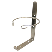 Picture of Wall Mountable Bracket for 11.5 to 13 cm Diameter Tubs, Fits Most Brands, (For DETWIP100 and DW100) Stainless Steel, Each Wall Mountable Bracket for 11.5 to 13 cm Diameter Tubs, Fits Most Brands, (For DETWIP100 and DW100) Stainless Steel, Each