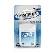 Picture of Oral Health-Oral Care Dental Floss Livingstone Dental Floss, Waxed, 50 Yards per Blister Pack