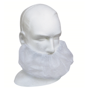 Picture of Livingstone Disposable Beard Cover, Double Elastic Ear Loop, Latex Free, 28gsm, White, 100 per Box Livingstone Disposable Beard Cover, Double Elastic Ear Loop, Latex Free, 28gsm, White, HACCP Certified, 100 per Box