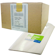 Picture of Protective Wear-Slippers, Shoe Covers & Bibs Bibs Cello Cello Bib with Ties, 4-Ply, 33 x 50cm, 300 per Carton