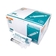 Picture of Syringes-Polyethylene Disposable - Without Needle Lock Tip - Sterile Livingstone Syringe, 30ml, Luer Lock Tip, Latex Free, Hypoallergenic, Sterile, 50 per Box