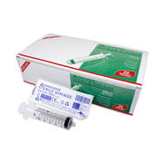 Picture of Medical Consumables & Surgical Supplies-Syringes And Needles LUER LOCK, LATEX FREE STERILE Livingstone Syringe, 60ml, Luer Lock Tip, Latex Free, Hypoallergenic, Sterile, 20 per Box