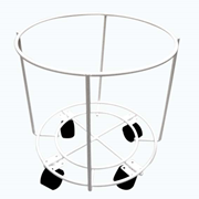 Picture of Wheel-Away Trolley For 10 Litres, .15 Litres, 20 Litres Wheel-Away Trolley for Needles Sharps Waste Collector, Size 10 to 20 Litres.