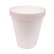 Picture of Healthcare-Stationery & Office Supplies Cups Cups - Foam Livingstone Foam Cups, 8oz or 237ml, Plain, White, 1000 per Carton