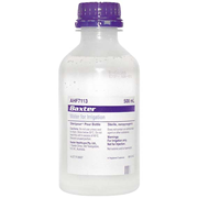 Picture of I.V Administration-Water For injection Baxter Water For Irrigation, 500ml Bottle, Loose (AHF7113)