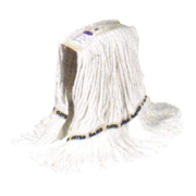 Picture of School-Livingstone Office Kitchen & Janitorial Hygiene Products Livingstone Cotton Loop Mop Head, 350g, White, Each