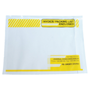 Picture of Invoice/Packing List Enclosed Envelopes, Yellow, 115 x 150 mm 1000 per Box (INTERNAL USE ONLY) Invoice/Packing List Enclosed Envelopes, Yellow, 115 x 150 mm 1000 per Box (INTERNAL USE ONLY)