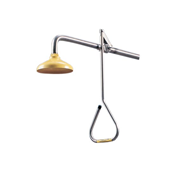 Picture of Speakman Emergency Deluge Shower, Wall Mounted, Triangular Stainless Steel Pendant with Stay Open Valve, Each Speakman Emergency Deluge Shower, Wall Mounted, Triangular Stainless Steel Pendant with Stay Open Valve, Each