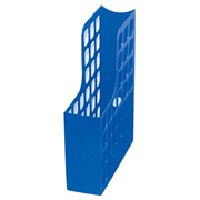 Picture of Esselte Boxer Magazine File, A4,W:80mm D:250mm H:325mm,70mm Capacity, Recyclable Polystyrene, High Gloss, Royal Blue, Each Esselte Boxer Magazine File, A4,W:80mm D:250mm H:325mm,70mm Capacity, Recyclable Polystyrene, High Gloss, Royal Blue, Each