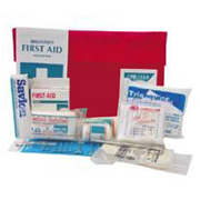 Picture of First Aid Kits-Class C Kits (NSW) Livingstone First Aid Kit, Class C, Complete Set In Nylon Pouch, for 1-10 people, Meets Occupational Health and Safety Regulation