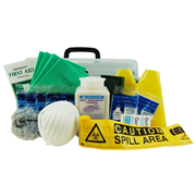 Picture of Livingstone Chemical Spill Kit, with Instruction Sheet, Each Livingstone Chemical Spill Kit, with Instruction Sheet, Each