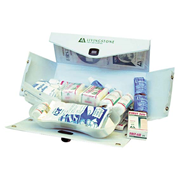 Picture of First Aid Kits-Camping Kit Pvc Case Cartridge 305mm(w) x 145mm (h) x 120mm (d) Livingstone Camping First Aid Kit, Complete Set In PVC Case