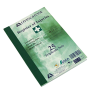 Picture of Register Of Injuries, 25 Triplicate, Each Register Of Injuries, 25 Triplicate, Each