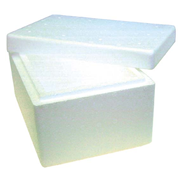 Picture of Foam Cooler Box, 2 Litres, 230 x 160 x 120 mm with Lid, Each (621945) Foam Cooler Box, 2 Litres, 230 x 160 x 120 mm with Lid, Each (621945)
