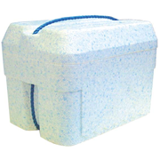 Picture of Foam Cooler Box, 6 Litres, 260 x 180 x 210 mm, with Lid, Each (611120) Foam Cooler Box, 6 Litres, 260 x 180 x 210 mm, with Lid, Each (611120)