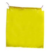 Picture of Cleaning Supplies-Disposal Garbage Bags Yellow Livingstone Garbage Bag Bin Liner, Recyclable, with Draw String, 120 Litres, 115 x 108cm, 70 Microns, Heavy Duty, Yellow, 100 per Carton
