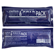 Picture of First Aid - Hot and Cold Packs - Reusable Livingstone Hot and Cold Pack, 10 x 25cm, Reusable, Clear Non-Staining Gel, Each