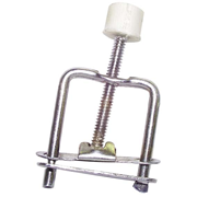 Picture of Laboratory Consumables-Clamps Tubings Hoffmann Tubing Clamp, Screw Action, Iron, 30mm Width, Opens to 25mm