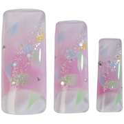 Picture of HAWLEY TIPS AIR BRUSHED LILAC,LARGE BLUE & GREEN FLOWERS -70 HAWLEY TIPS AIR BRUSHED LILAC,LARGE BLUE & GREEN FLOWERS -70