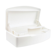Picture of Beauty-Nail Supplies-Manicure & Pedicure Supplies Dispensers and Containers Sterilising Containers Recyclable Plastic Sterilising Unit, Self-draining, Each