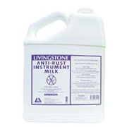 Picture of Livingstone Anti-Rust and Anti-Stain Instrument Milk, 3.79 Litres (1 Gallon) MSDS on Label, Made in USA Livingstone Anti-Rust and Anti-Stain Instrument Milk, 3.79 Litres (1 Gallon) MSDS on Label, Made in USA