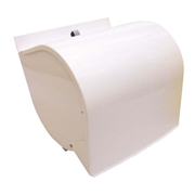 Picture of Paper Products-Dispenser Kimberly Clark Roll Towel Dispenser White Enemal Suits Most Roll Towels, Each