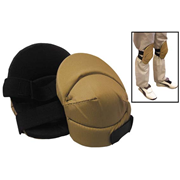 Picture of FIRST AID & SAFETY-SAFETY Workplace Safety Knee Shield Livingstone Industrial Knee Pads, with Contoured Pads, 600 Nylon, Recyclable Plastic, Pair