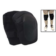 Picture of Rehabilitation-Pads Knee Pads Livingstone Industrial Knee Pads, for Reduced Blood Pressure and Fatigue, Black , Pair