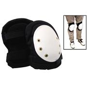 Picture of Industrial Knee Pads with Easy One Touch Hook Loop Fastener System, Each Livingstone Industrial Knee Pads, with Easy One Touch Hook Loop Fastener System, Pair