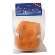 Picture of Industrial Knee Pads Wtih Molded Rubber N-skid Surface Each Livingstone Industrial Knee Pads, with Molded Rubber Non-skid Surface, Pair