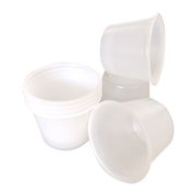 Picture of Solo Polypropylene Recyclable Plastic Portion Cup 29.6ml, 1 Ounce Capacity, White, 250 per Pack, 5000 per Carton Livingstone Polypropylene Recyclable Plastic Portion Cup 29.6ml, 1 Ounce Capacity, White, 250 per Pack, 5000 per Carton