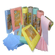 Picture of Maxvalu Delux Cleaning Wipes Perforated Maxvalu Delux Cleaning Wipes 50 x 30cm, Green, 85 Sheets per Roll, 6 Rolls per Carton