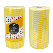 Picture of Maxvalu Delux Cleaning Wipes Perforated Maxvalu Delux Cleaning Wipes 50 x 30cm, Yellow, 85 Sheets per Roll, 6 Rolls per Carton