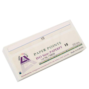 Picture of Dental-Endodontic Products Livingstone Absorbent Paper Points, ISO Size No. 15, 6 Compartments, Biodegradable, Sterile, White, 200 per Box