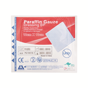 Picture of Dressings-Paraffin Gauze Livingstone Livingstone Paraffin Gauze Swab Dressings, 10 x 10 cm, Sterile Single Pack, 10 per Box