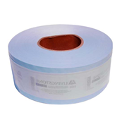 Picture of Livingstone Autoclave Biodegradable Sterilisation Paper with Film Roll, Steam Indicator Strip and Label, 75mm x 200 metres, Each Livingstone Autoclave Biodegradable Sterilisation Paper with Film Roll, Steam Indicator Strip and Label, 75mm x 200 metres, Each