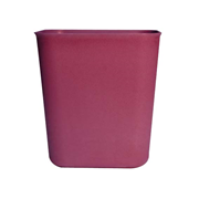 Picture of Dental-Office Supplies Desk Accessories Bins Recyclable Plastic Rubbish Bin 24 x 17.5 x 26.5 cm, 11.2 Litres Brown